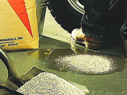 Control de Derrames con Absorbentes Industriales - DIATOM 21 absorbente mineral ecológico
