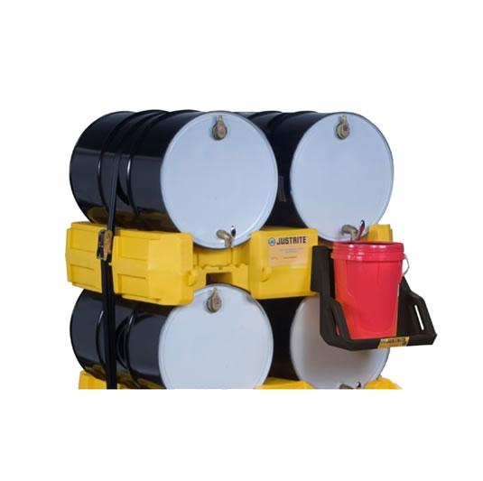 Módulos apiladores para sistema de gestión de tambores - Color Amarillo - Justrite 28668 (Ex AK28903/AK28903Y) EcoPolyBlend™