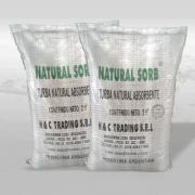 Soluciones efectivas para el control de derrames - Absorbente orgánico Natural-Sorb®