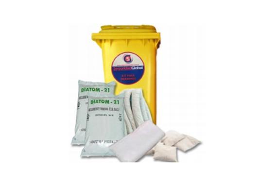 Kits contra Derrames Industriales - Kits de emergencia para control de derrames - KIT Para control de derrames